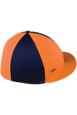 Woof Wear Convertible Hat Cover - Orange / Navy